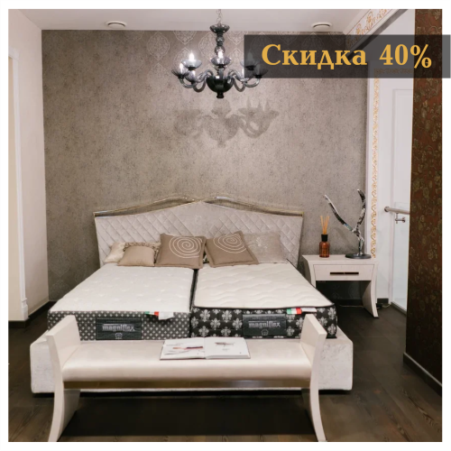Скидка 40% на кровать Valentino