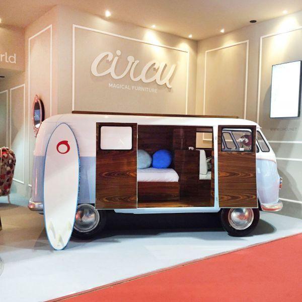 Кровать Bun Van