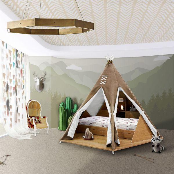 Кровать Teepee room