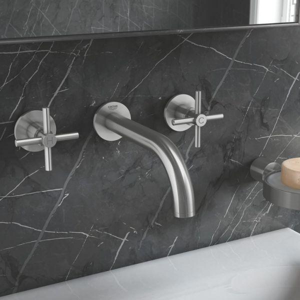 Коллекция смесителей для ванной и кухни Atrio