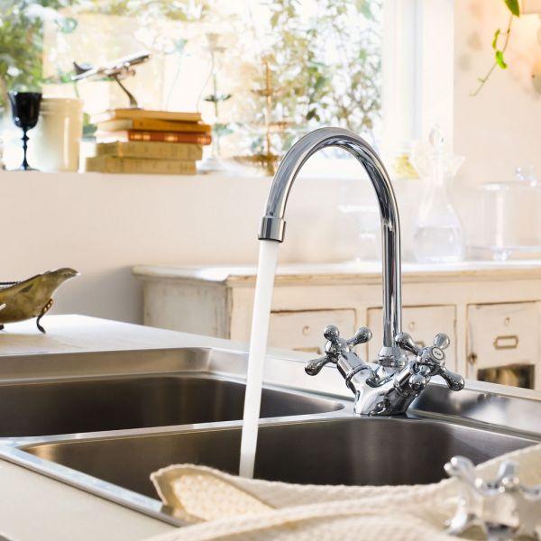 Коллекция смесителей для ванной и кухни Grazia