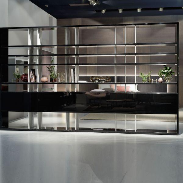 Открытый стеллаж Vita для зонирования помещения