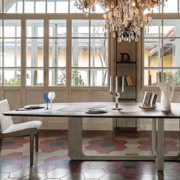 Стол обеденный Atlante, дизайнер Мауро Липпарини (Mauro Lipparini)